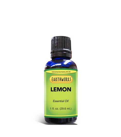 Dave Hawkins' EarthWorks EO Lemon Essential Oil