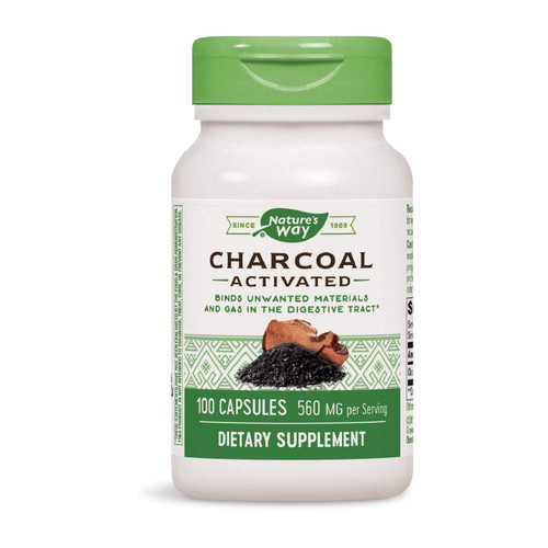 Nature's Way Activated Charcoal 100 Caps