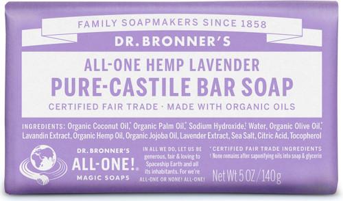 Dr. Bronner's Pure-Castile Bar Soup - Lavender