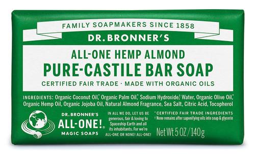 Dr. Bronner's Pure-Castile Bar Soup - Almond