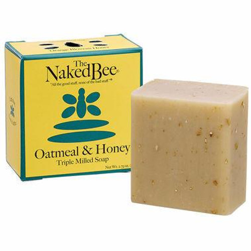 The Naked Bee Oatmeal & Honey Triple Milled Soap 2.75 oz