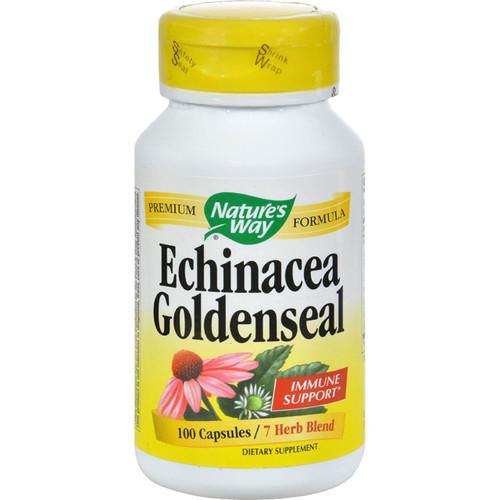 Nature's Way Echinacea Goldenseal 100 Caps