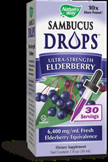 Nature's Way Sambucus Elderberry Drops 1 oz