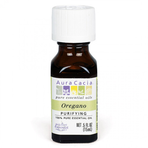 Aura Cacia Oregano Essential Oil 0.5 oz