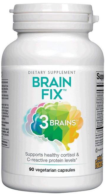 Natural Factors 3 Brains Brain Fix 90 Vcaps
