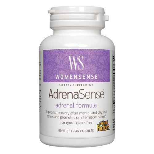 Natural Factors AdrenaSense 60 Vcaps