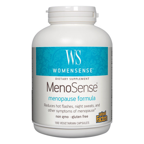 Natural Factors MenoSense 180 Vcaps