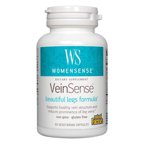 Natural Factors VeinSense 60 Vcaps