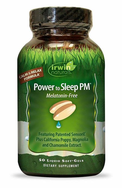 Irwin Naturals POWER TO SLEEP PM Melatonin-Free 50 ct