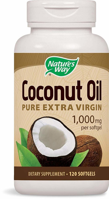 Nature's Way Coconut Oil 120 SG