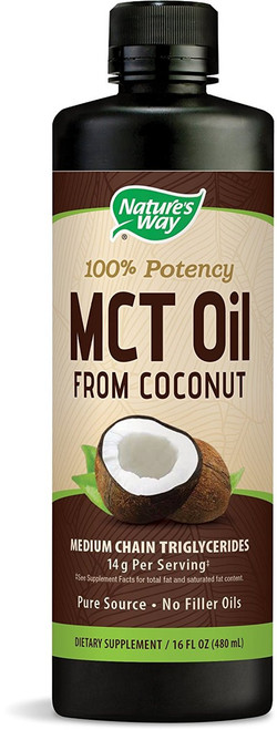 Nature's Way MCT Oil Energy Source 16 oz