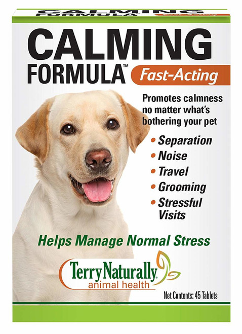 Terry Naturally Animal Health Calming Formula Canine 45 Tabs