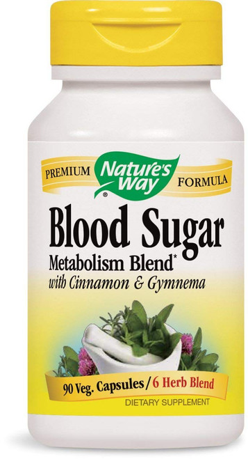 Nature's Way Blood Sugar 90 Caps