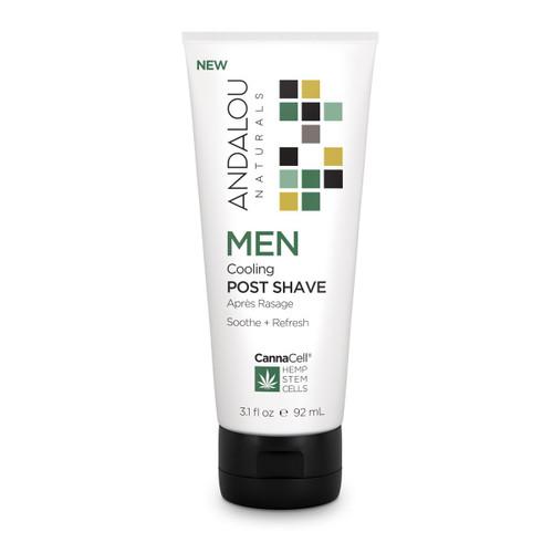 Andalou Naturals Post Shave Men's Cooling 3.1 Oz