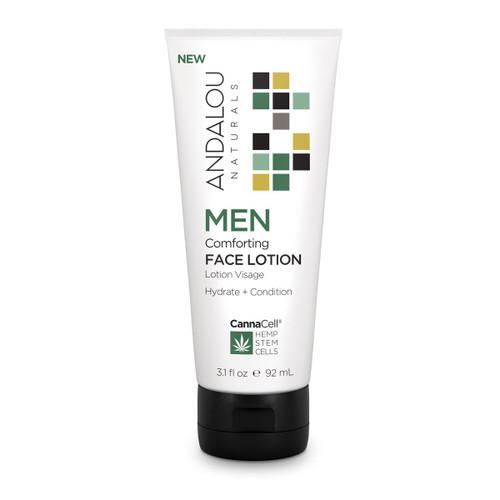 Andalou Naturals Face Lotion Men's Comforting 3.1 Oz