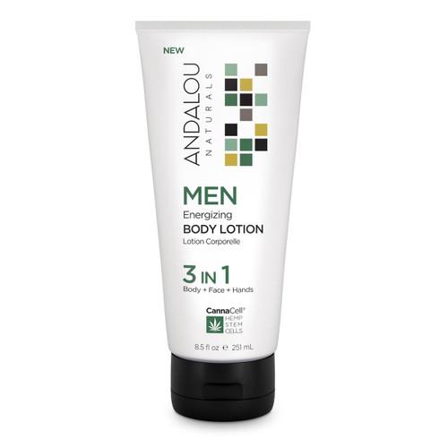Andalou Naturals Body Lotion Men's Energizing 8.5 Oz
