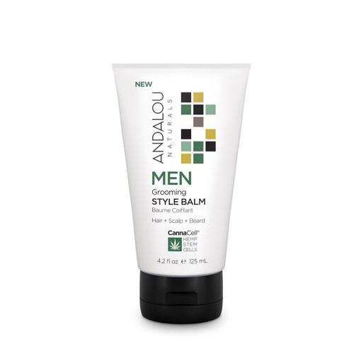 Andalou Naturals Style Balm Men's Grooming 4.2 Oz