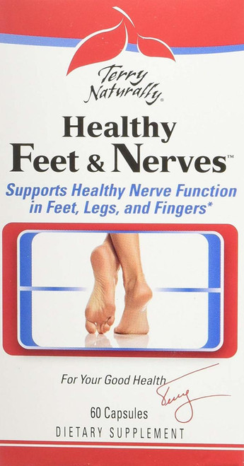 Terry Naturally Healthy Feet & Nerves 60 Caps
