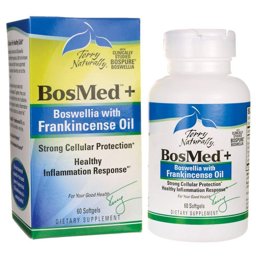 Terry Naturally Europharma BosMed + Boswellia with Frankincense Oil 60 SG