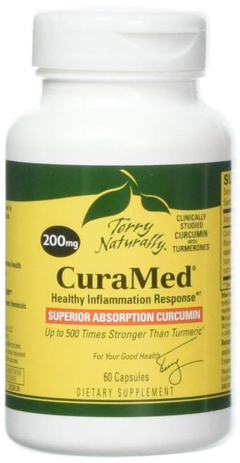CuraMed Superior Absorption Curcumin 200 mg 60 SG