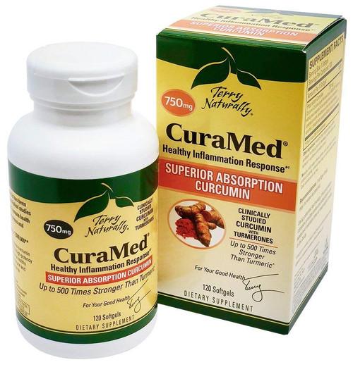 CuraMed Superior Absorption Curcumin 750 mg 120 SG