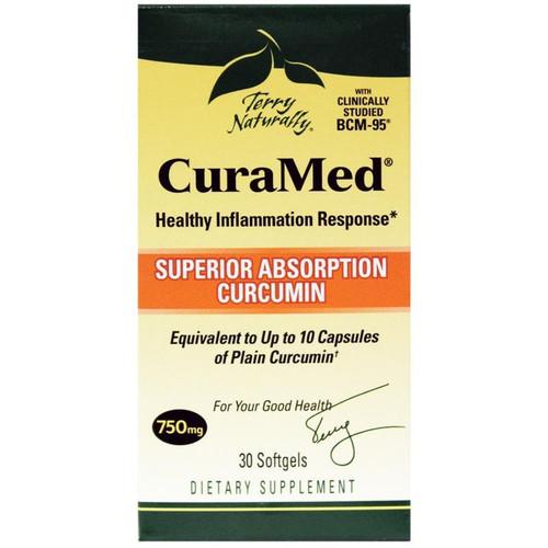 CuraMed Superior Absorption Curcumin 750 mg 30 SG