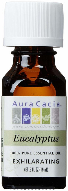 Aura Cacia Eucalyptus Essential Oil 0.5 oz