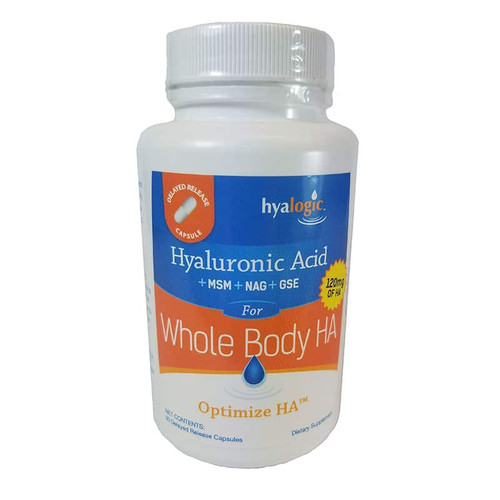 Hyalogic Hyaluronic Acid for Whole Body 30 Caps