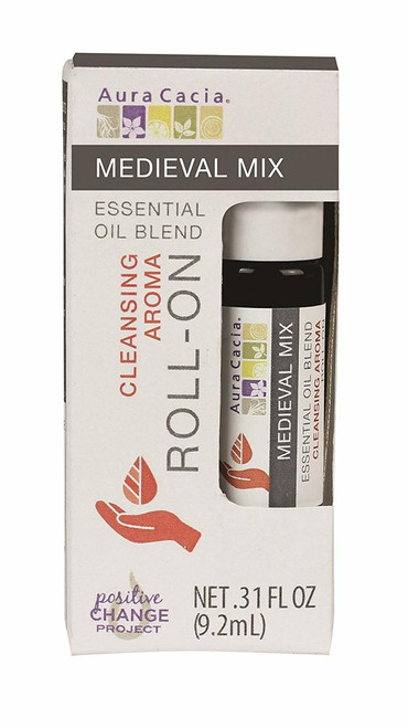 Aura Cacia Medieval Mix Roll-On 0.31 oz