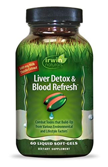 Irwin Naturals Liver Detox & Blood Refresh 60 SG