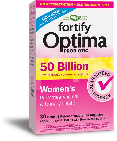 Nature's Way Fortify Optima Women's 50 Billion - 30 Caps