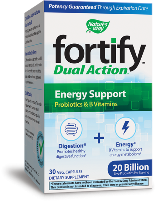 Nature's Way Fortify Optima Energy Support 20 Billion - 30 Caps