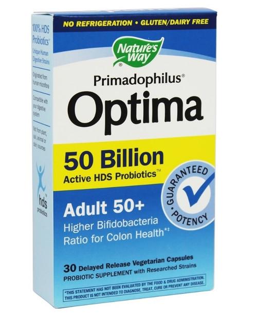 Nature's Way Fortify Optima Adult 50+ 50 Billion - 30 Caps