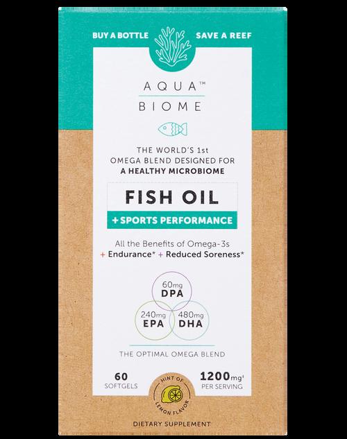 Enzymedica Aqua Biome Fish Oil + Sports Performance 60 SG