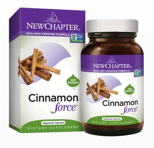 Cinnamon Force 60 by New Chapter