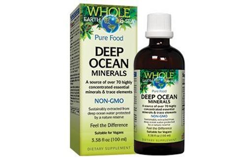Whole Earth & Sea Deep Ocean Minerals - 3.38 oz