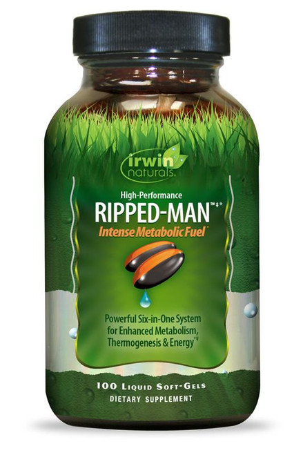 Irwin Naturals System-Six RIPPED-MAN 100 sg