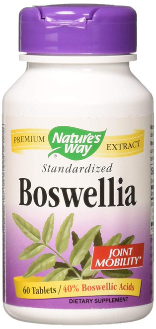 Nature's Way Boswellia Standardized 60 caps