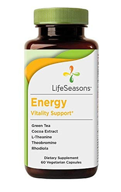 LifeSeasons Energy Vitality Support 60 VCaps