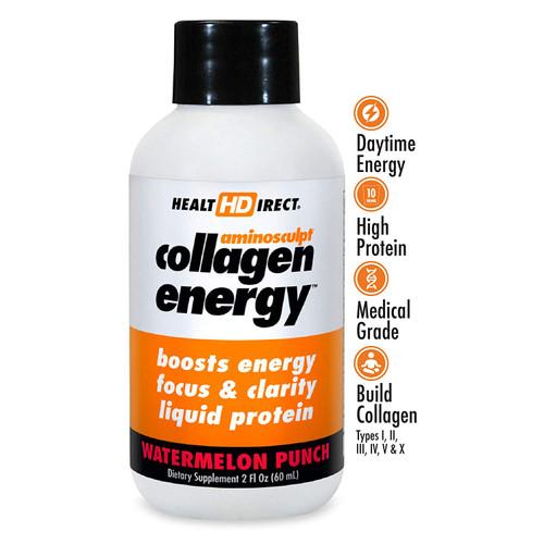 HealtHDirect Collagen Energy - Watermelon Punch 2 oz