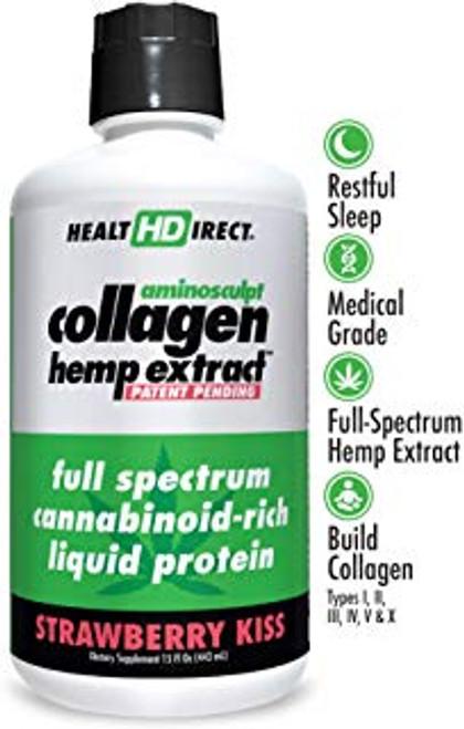 HealtHDirect Collagen Energy - Strawberry Kiss 15 oz
