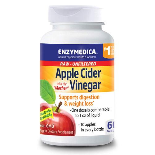 Enzymedica Apple Cider Vinegar 60 caps