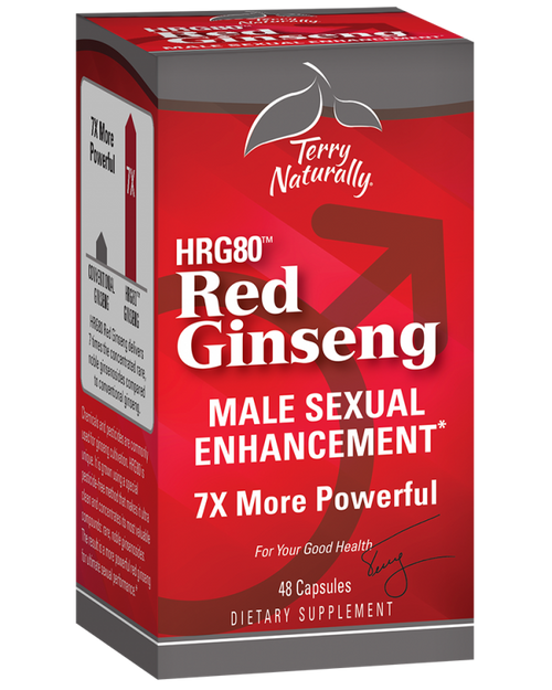 Terry Naturally Red Ginseng Male Sexual Enhancement 48 caps