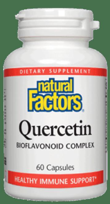Natural Factors Quercetin Bioflavonoid Complex 60 Caps