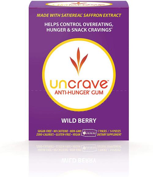 UnCrave Anti-Hunger Gum - Wild Berry