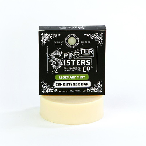 Spinster Sisters Co Conditioner Bar - Rosemary Mint 3 oz