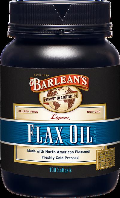 Barlean's Lignan Flax Oil 100 sg