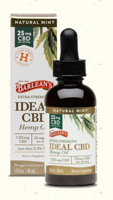 Barlean's CBD Extra Strength 1.5 oz