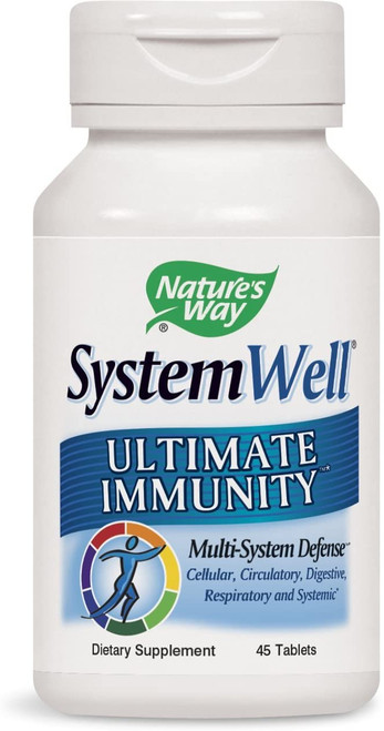 Nature's Way Systemwell Ultimate Immunity Multi-System Defense 45 tabs