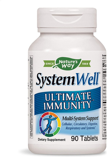 Nature's Way Systemwell Ultimate Immunity Multi-System Defense 90 tabs